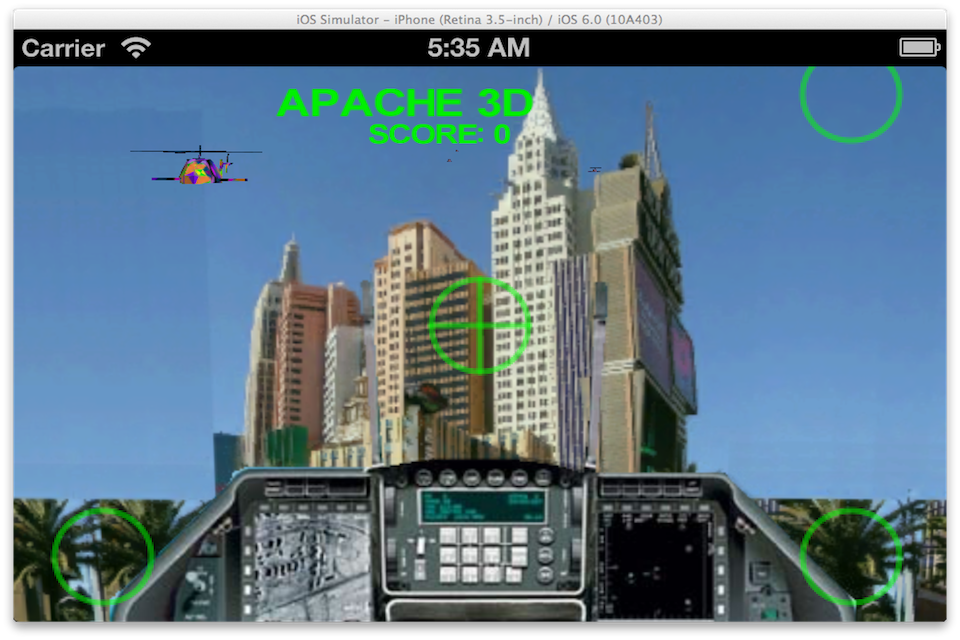 Screenshot Apache Missions 3D